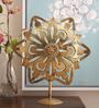 @ Home By Nilkamal Anarkali Golden Brass Figurine
