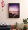 @ Home by Nilkamal City Day Canvas 1.38 x 19.69 Inch Framed Picture