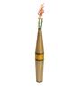 @ Home Gold Aluminium Mythical Tapper Vase
