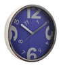 @ Home Indigo Plastic 12 x 1.6 x 12 Inch Homely Wall Clock