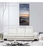 999Store Sun Board 15 x 17 Inch Rocky Sea Bank Durable Painting - Set of 2