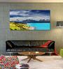 999Store Vinyl 96 x 0.4 x 48 Inch Beautiful Lake Painting Unframed Digital Art Print