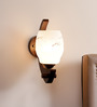 Ariana Wall Light in White by CasaCraft