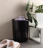 All Time Black 7 L Waste Paper Dustbin - Set of 2