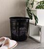 All Time Plastic Black 6.5 L Tidy Dustbin - Set of 3