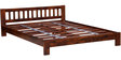 Amarillo Queen Size Bed in Honey Oak Finish by Woodsworth