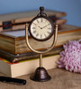 Anantaran Multicolor Brass Superior Table Clock