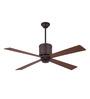Anemos 1300 MM Hammered Steel Brown Ceiling Fan