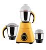 Anjalimix Amura 750W Yellow Mixer Grinder With 3 Jars