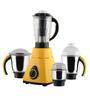 Anjalimix Amura 750W Yellow Mixer Grinder With 4 Jars
