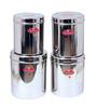 Aristo Silver 3500 Ml - 6400 Ml Storage Container - Set of 4