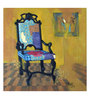 Art Zolo Canvas 30 x 30 Inch Chair Unframed Artwork Painting