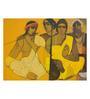 Art Zolo Canvas 48 x 36 Inch Musicians Ii Unframed Artwork Painting