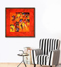 ArtCollective Canvas 40 x 40 Inch Untitled Framed Limited Edition Digital Art Print by Krishna Pulkundwar