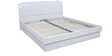 Aspen Queen Bed with Hydraulic Storage in Gloss Finish by HomeTown