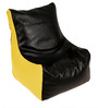 Baby Lounge Bean Bag Cover in Black N Yellow Colour by ARRA