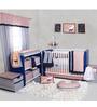 Bacati Olivia Tribal 10-Piece Crib Set in Mint & Navy