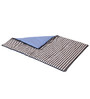 Bacati Elephant Blue Grey Baby Comforter