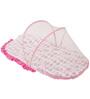 Bacati Elephant Pink Grey Mattress with Net Small