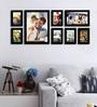 Bajardo Collage Photo Frame in Black by CasaCraft