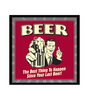 bCreative Paper & Fibre 13 x 1 x 13 Inch Beer The Best Thing To Happen Since Last Beer Officially Licensed Framed Poster