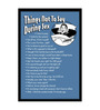 bCreative Paper & Fibre 13 x 1 x 19 Inch Things Not To Say On A Sex Officially Licensed Framed Poster