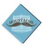 bCreative Blue MDF Big Moustache Fridge Magnet