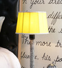 Beverly Studio Yellow Poly Cotton Lamp Shade