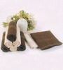 BIANCA Chocolate & Antique 100% Terry Cotton Face Towel - Set of 8