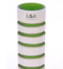 Bloomfields Green Glass LSA with Lime Rings Vase