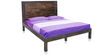 Boerum King Bed in Caf Finish by Inliving