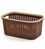 All Time Cresta Plastic Brown 27 L Basket