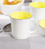 Bp Bharat Bone China Good Morning Tea Set - Set of 6