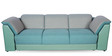 Broadway Three Seater Sofa in Teal Green Finish by Godrej Interio
