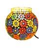 Brahmz Multicolour Glass Table Lamp