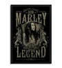 Bravado Fibre with Wood Texture 13 x 19 Inch Bob Marley Grunge Framed Posters