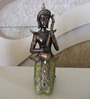 Browse House Bronze & Green Polyresin Musical Buddha