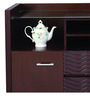 Buffet Indigo in Dark Walnut Colour by @home