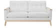 Carls Three Seater Sofa in White Colour by Madesos
