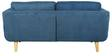 Cassia Two Seater Sofa in Blue Colour by CasaCraft
