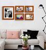 Cartagena Collage Photo Frame in Brown by CasaCraft