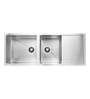 Carysil Quadro Stainless Steel Double Bowl with Drainer Kitchen Sink (Model No: Qdbd52208)