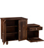 Belvidere Shoe Rack with Drawer in Provincial Teak Finish by Woodsworth