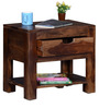 Tulsa Bed Side Table in Provincial Teak Finish by Woodsworth