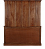 Clifton Hutch Cabinet in Provincial Teak Finish by Amberville