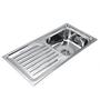 Century Steel Kitchen Sink (Model No: Rl-3718)
