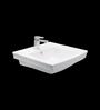 Cera Chitto White Ceramic Wash Basin