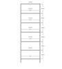 Chikuma Book Shelf in Tobacco Finish by Mintwud