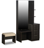 Chocolat Premium Dressing Table with Stool in Cola Rain Finish by Godrej Interio