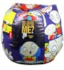 Family Guy Stewie Bean Bag Cover in Multi Colour by Orka